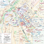 Denver Downtown Hotels And Sightseeings Map