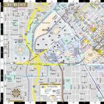 Denver Downtown Map Map Of Downtown Denver Colorado USA
