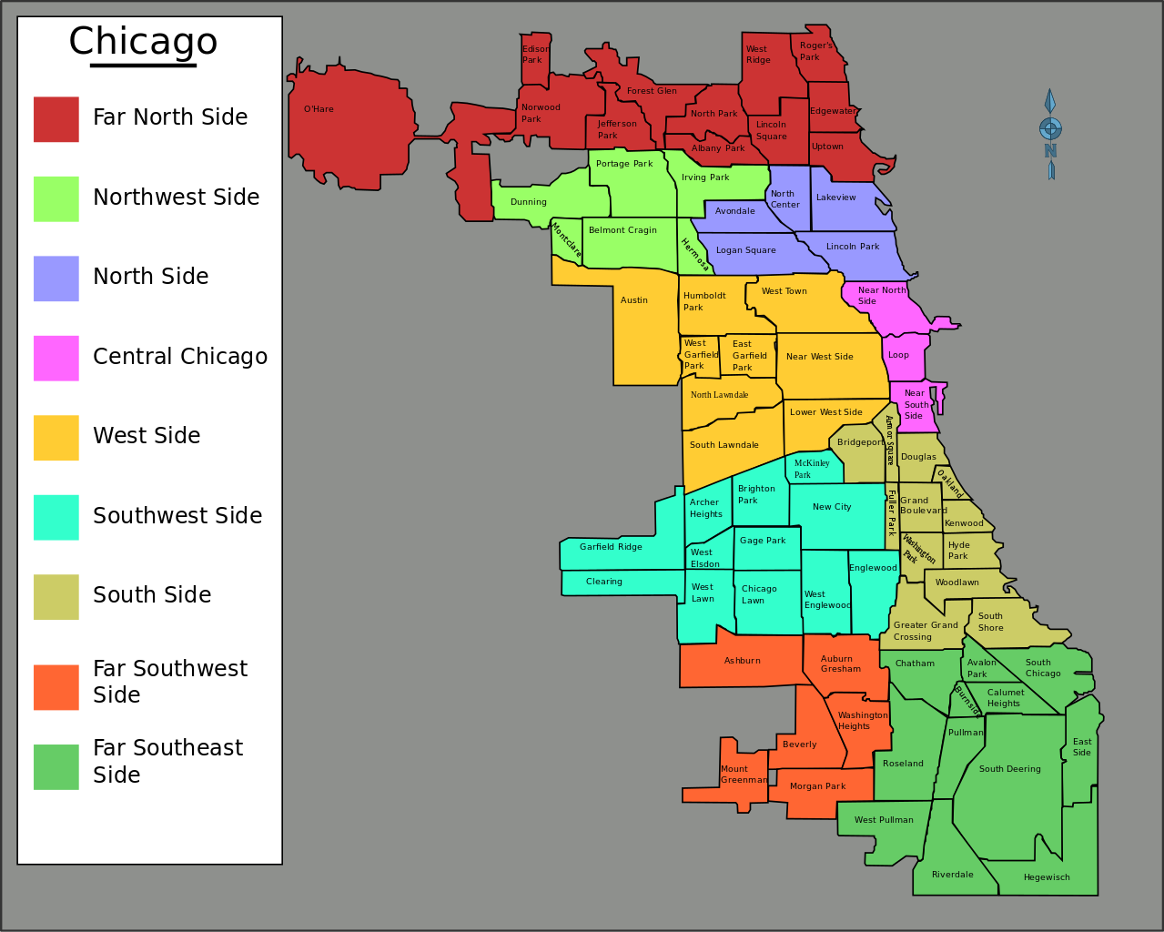 File Chicago Neighborhoods Outline svg Wikimedia Commons