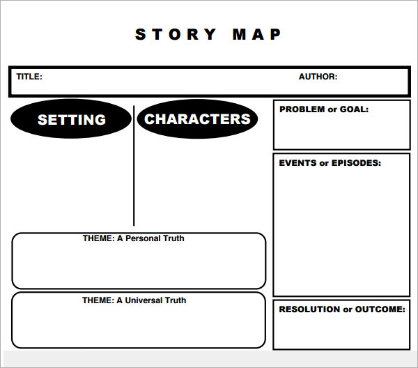 FREE 7 Story Map Templates In PDF