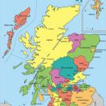 Free printable map of scotland best portalconexaopb