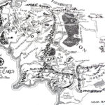 High Resolution Map Of Middle Earth Lotr Throughout