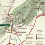 Hot Springs National Park Map Hot Springs Arkansas