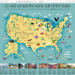 I Draw Maps A Map Of All 59 US National Parks For The
