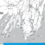 Maine Travel The World Printable Map Of Maine