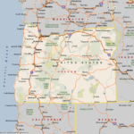Map Of Oregon Cities And Towns Maps Of Oregon Cities