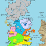 Map Of The Seven Kingdoms Game Of Thrones Map Hbo Game