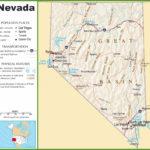 Mapas Detallados De Nevada Para Descargar Gratis E Imprimir