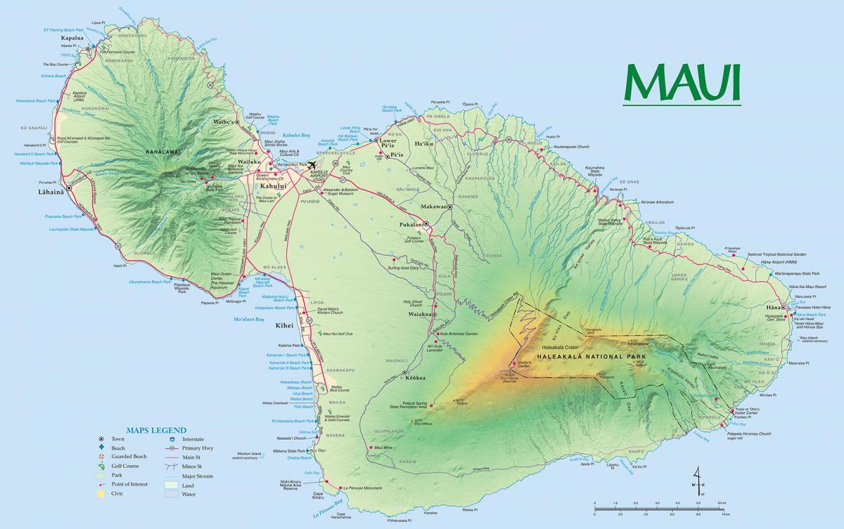 Maui Maps