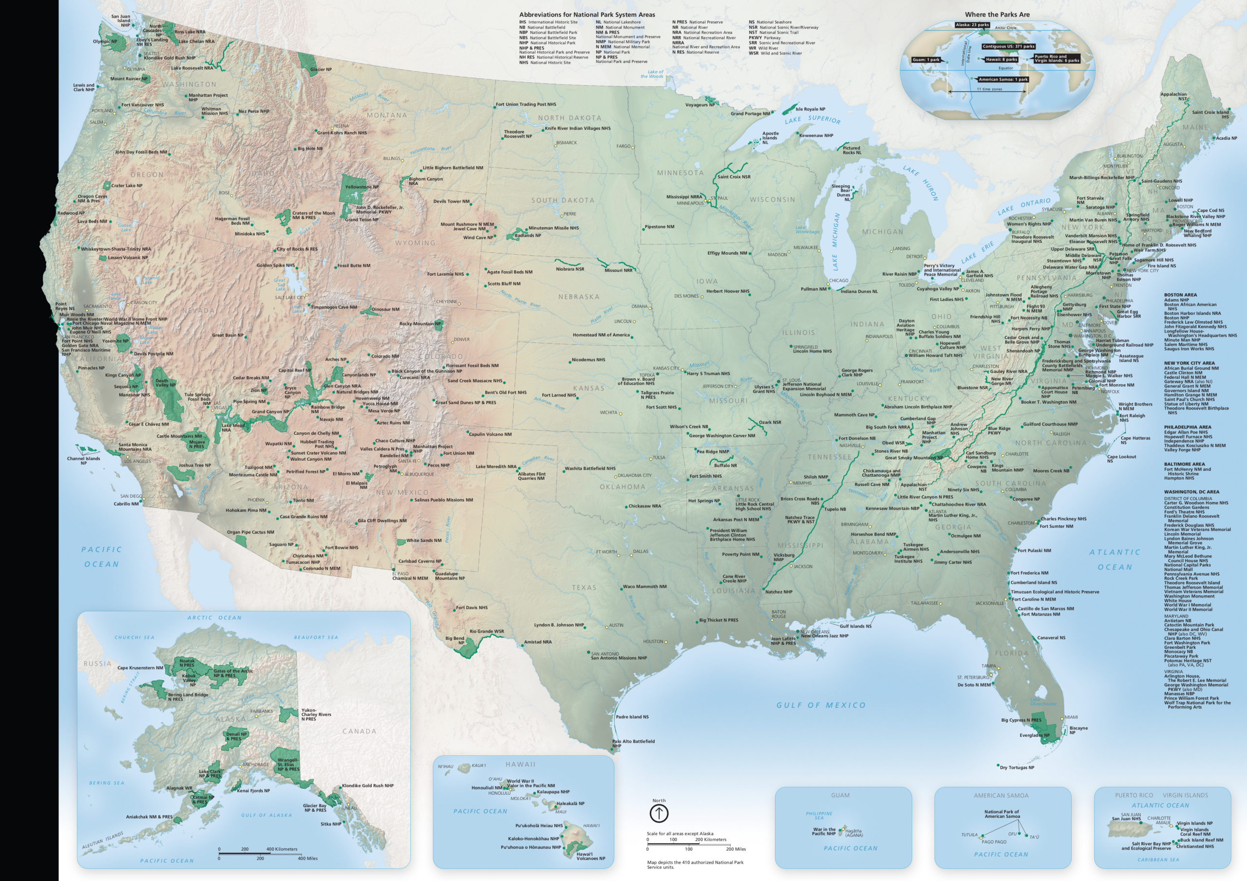 National Park Maps NPMaps Just Free Maps Period