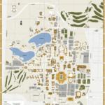 Notre Dame Campus Map Printable Printable Maps