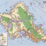 Oahu Hawaii Tourist Map Oahu Hawaii Mappery