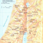 Old Testament Events Map Free Bible Maps Bible