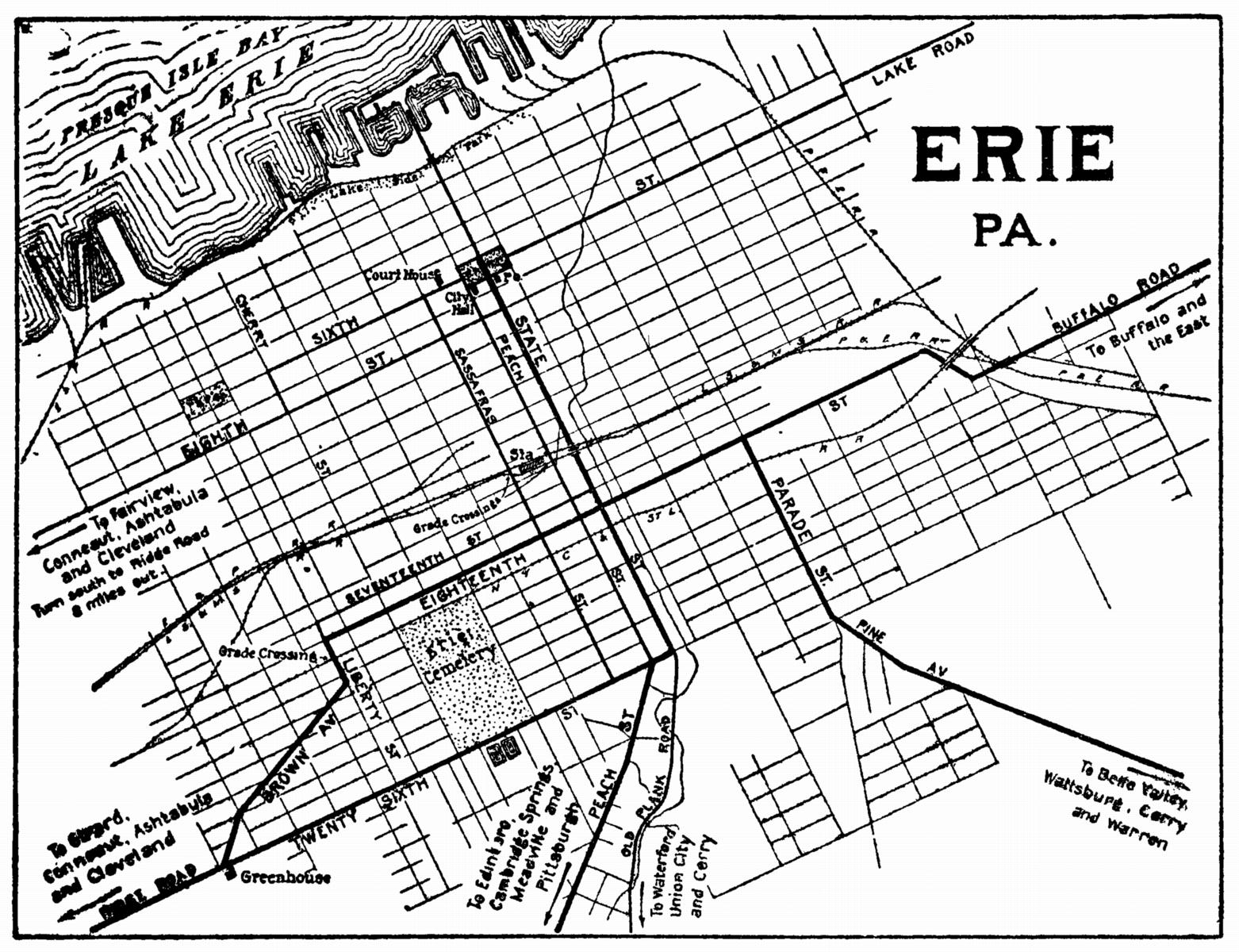 Pennsylvania City Maps At AmericanRoads