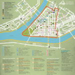 Pittsburgh Downtown Map