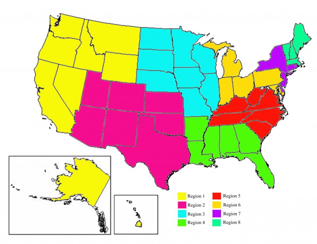 Post Election Us Map Inspirationa United States Regions