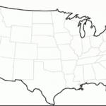 Printable Blank Map Of The United States Pdf Printable