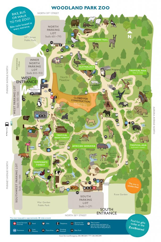 Printable Detroit Zoo Map Printable Maps