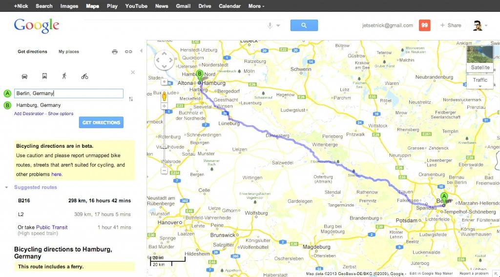Printable Driving Directions Google Maps Printable Maps