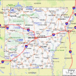 Printable Map Of Arkansas Free Print Out Maps AR State