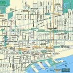 Printable Map Of Downtown Montreal Printable Maps