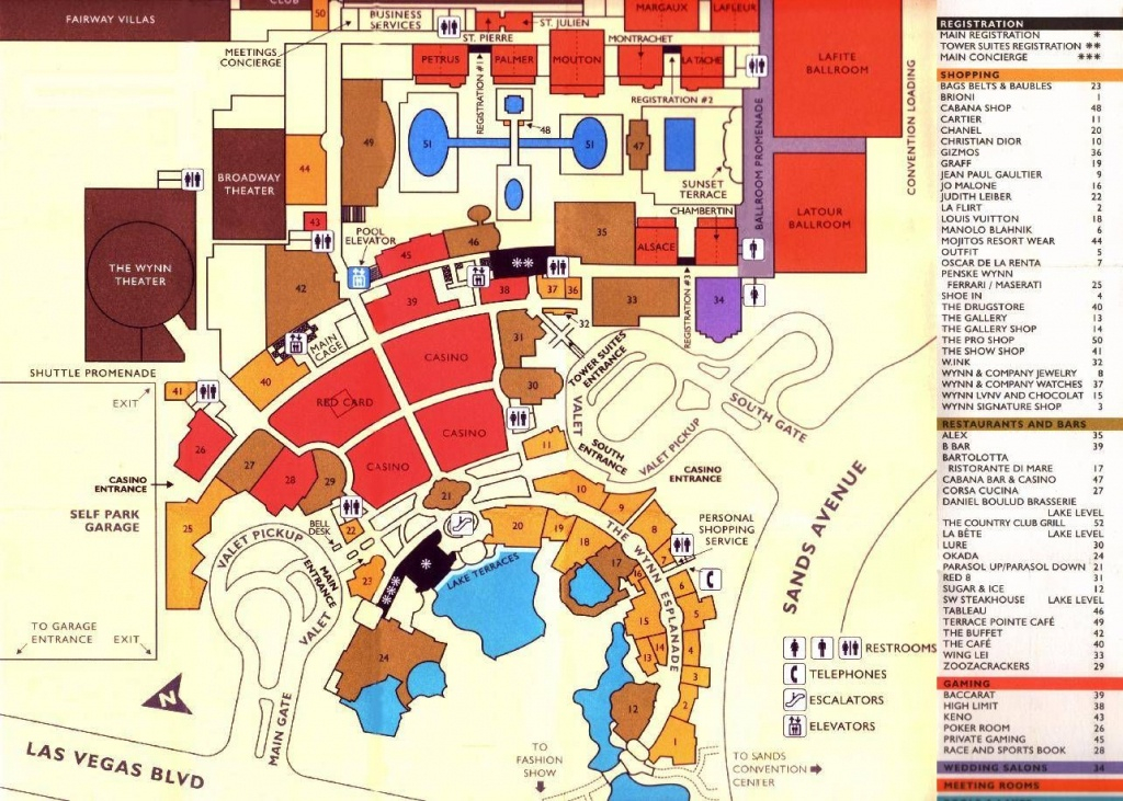 Printable Map Of Las Vegas Strip 2018 Printable Maps
