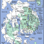 Printable Map Of Maine Lighthouses Printable Maps