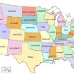 Printable Map Of USA