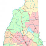 Printable Road Map Of New Hampshire Free Printable Maps