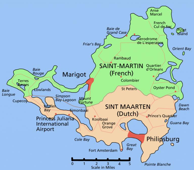 Printable Road Map Of St Maarten Free Printable Maps