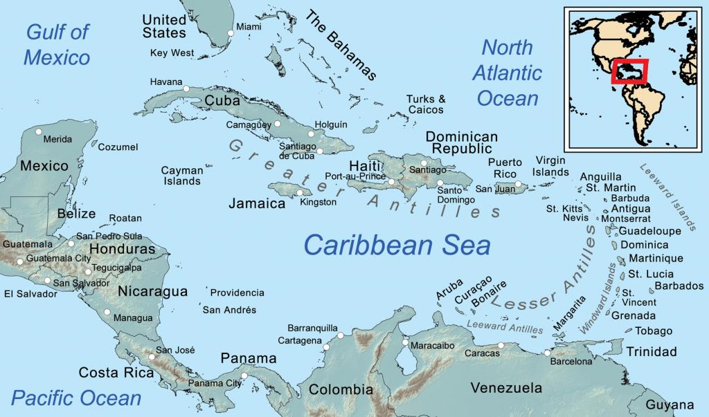 Printable Road Map Of St Maarten Printable Maps
