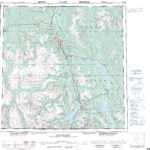 Printable Topographic Map Of Vancouver 092G Bc Free