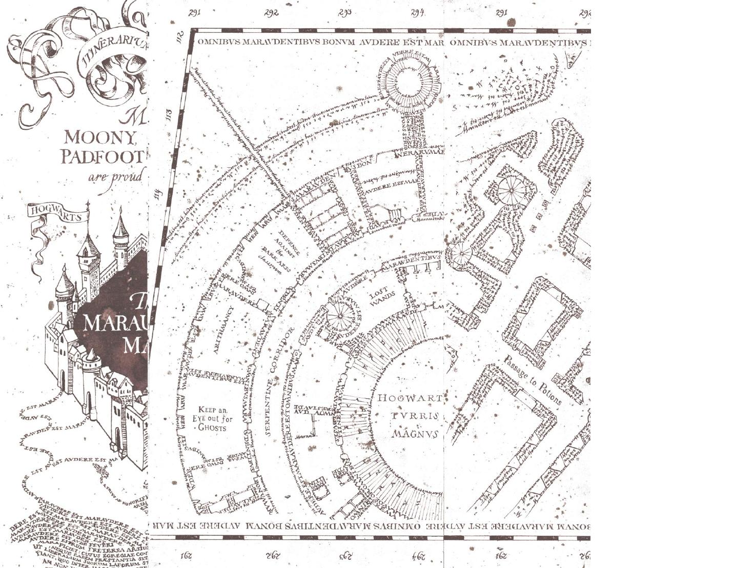 Related Image Marauders Map Map The Marauders