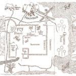 Resultado De Imagen De Hogwarts Map Black And White