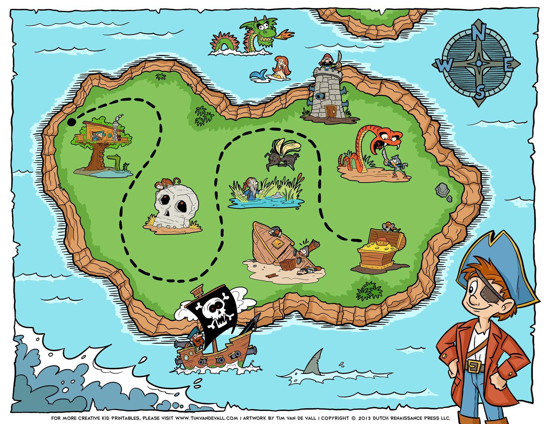 Resultado De Imagen Para Free Printable Pirate Treasure