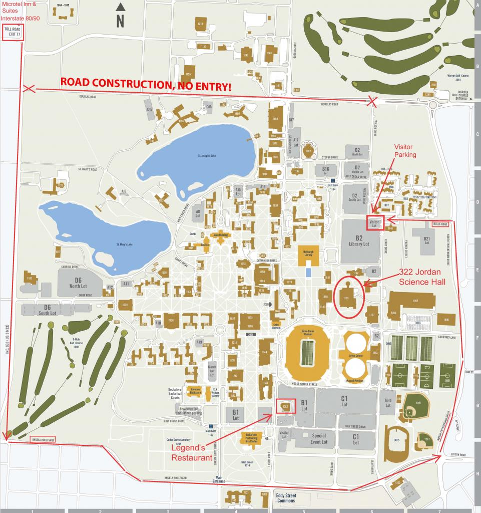 Rutgers University Busch Campus Map New York