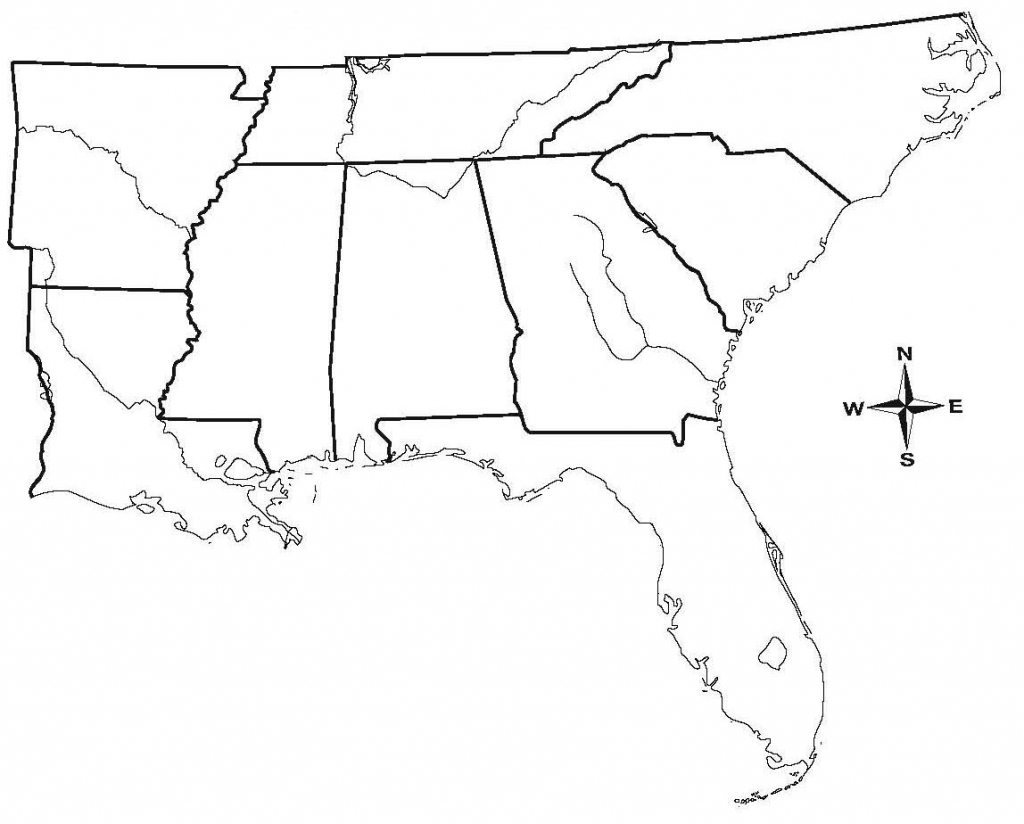 South Us Region Map Blank Save Results For Blank Map