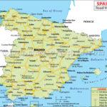 Spain Road Map Road Map Of Spain
