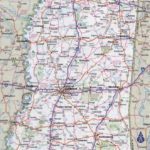State And County Maps Of Mississippi With Regard To