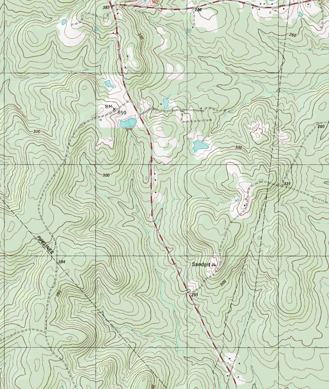The Barefoot Peckerwood Free Printable Topo Maps