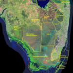 This Satellite View Of Far Southern Florida Shows The