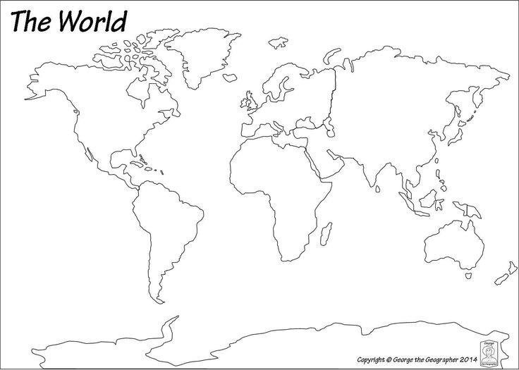 True World Map Continents A More Accurate Representation