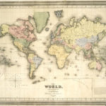 Vintage Maps 36 With Images Vintage Maps World Map