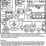 10 Best Images Of Map Key Worksheets For Kindergarten
