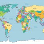 10 Best Simple World Map Printable Printablee