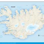 10 Elegant Printable Map Iceland Printable Map