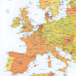 11 Western Europe Map Vector Images Western Europe