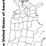 30 Elegant Us Map Coloring Page In 2020 With Images