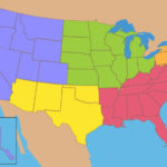 5 Regions Of The United States Printable Map Printable Maps