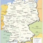 Administrative Map Of Germany Nations Online Project